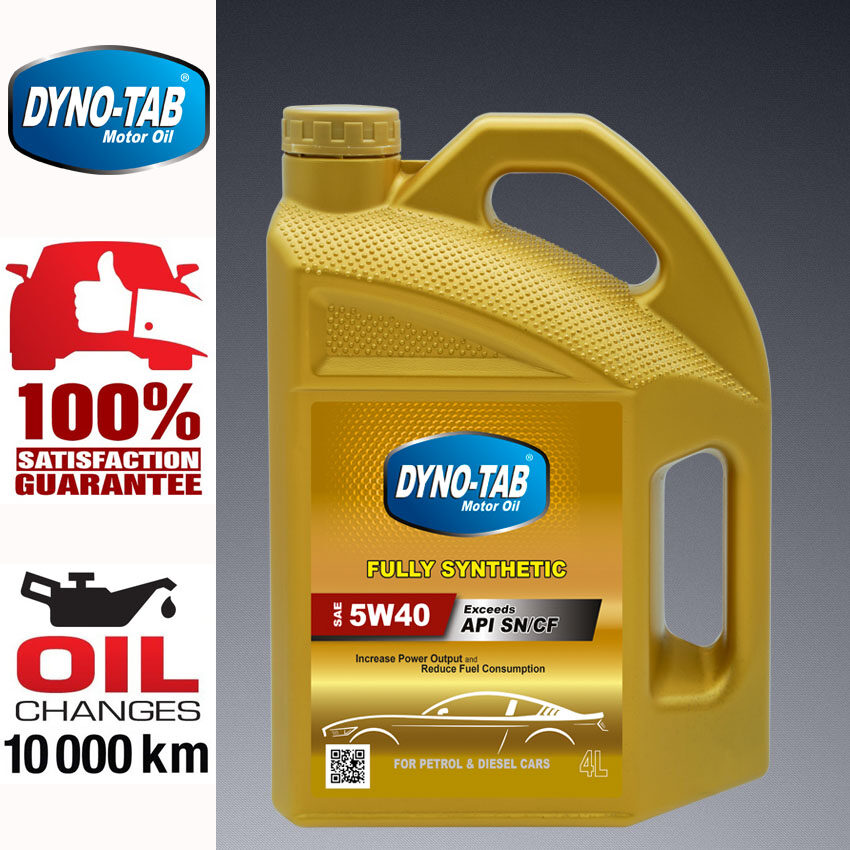 DYNO TAB 5W40 SN/CF Fully Synthetic Engine Oil [Limited-Time Offer]