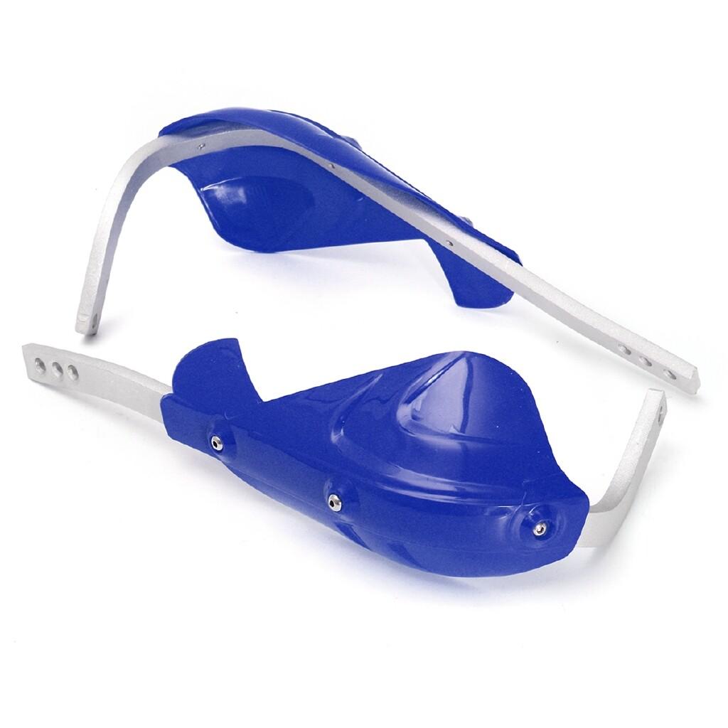 Moto Accessories - Pair Motorcycle Dirt Bike ATV Bike 22mm 7/8'' Brush Bar Handlebar Hand Guard - DARK ORANGE / BLUE / RED / WHITE / BLACK