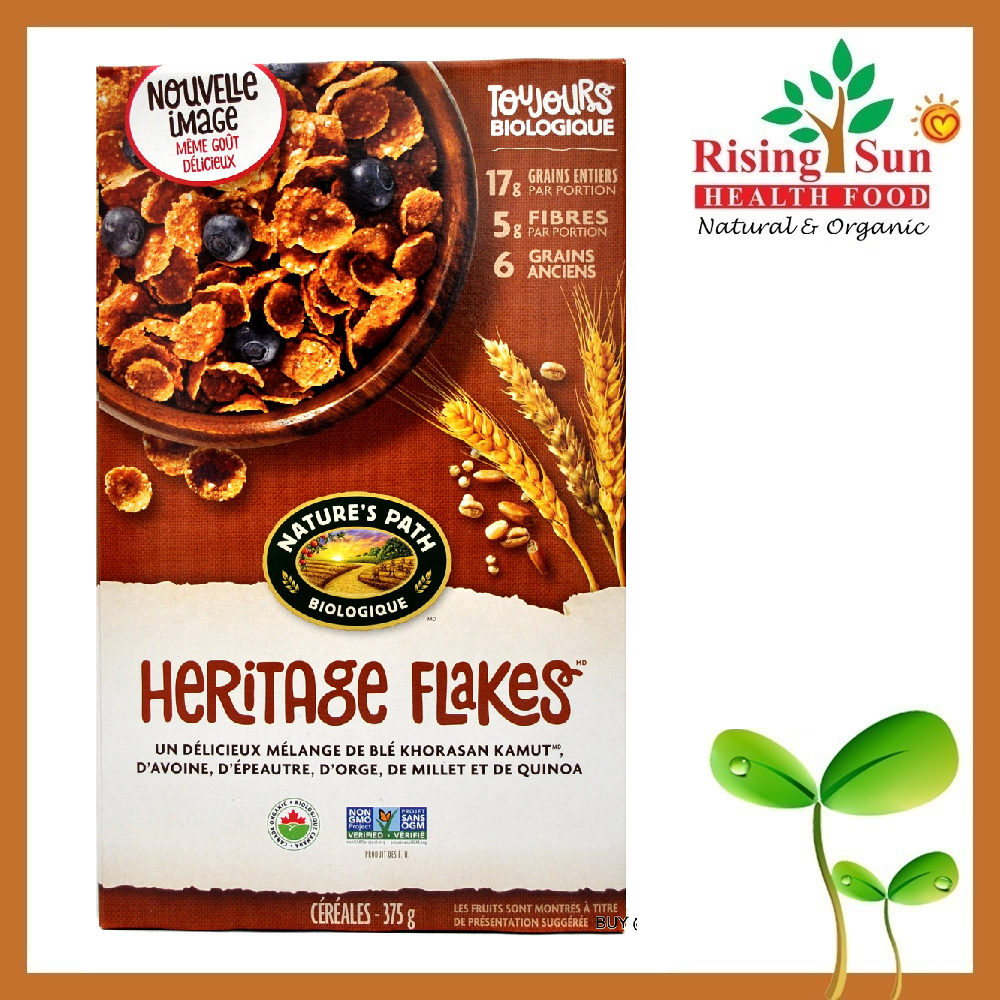 Natures Path Heritage Flakes 375Ml