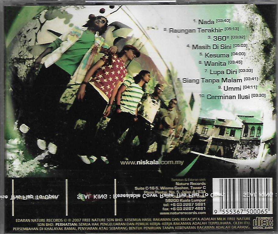 Niskala - Nada CD Rock Music