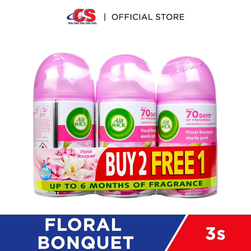 AIR WICK Air Freshener Floral Bonquet 3x250ml