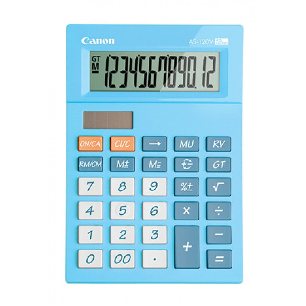 Canon Calculator 12 Digits AS-120V/AS-120