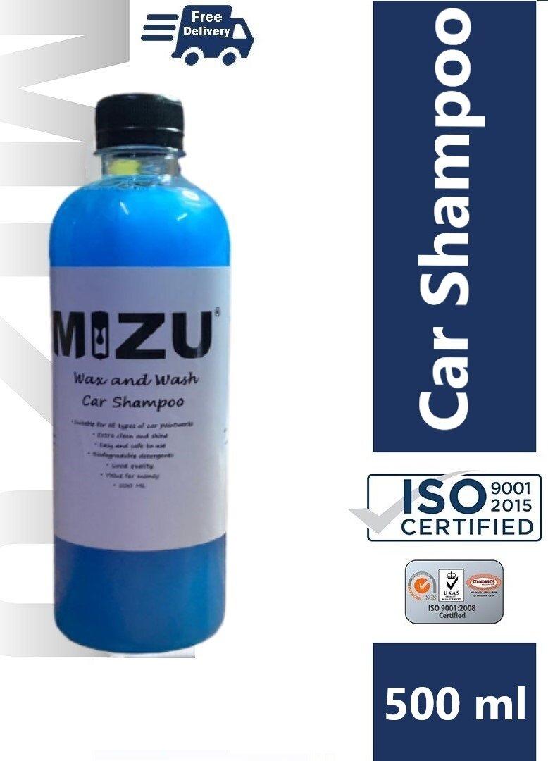 MIZU Car Wash and Wax Shampoo 500 ML