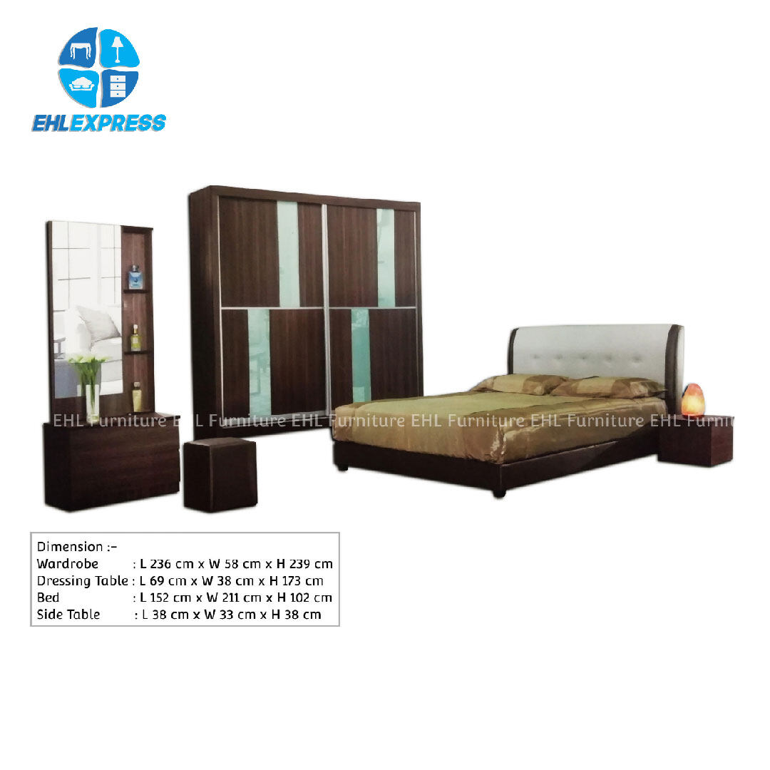 EHL EXPRESS bedroom set BRS0004