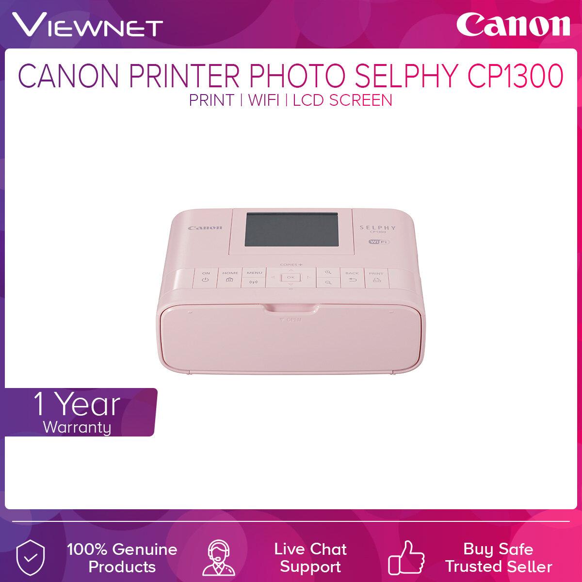 Canon Printer Photo SELPHY CP 1300 (Print/Wifi/LCD Screen)