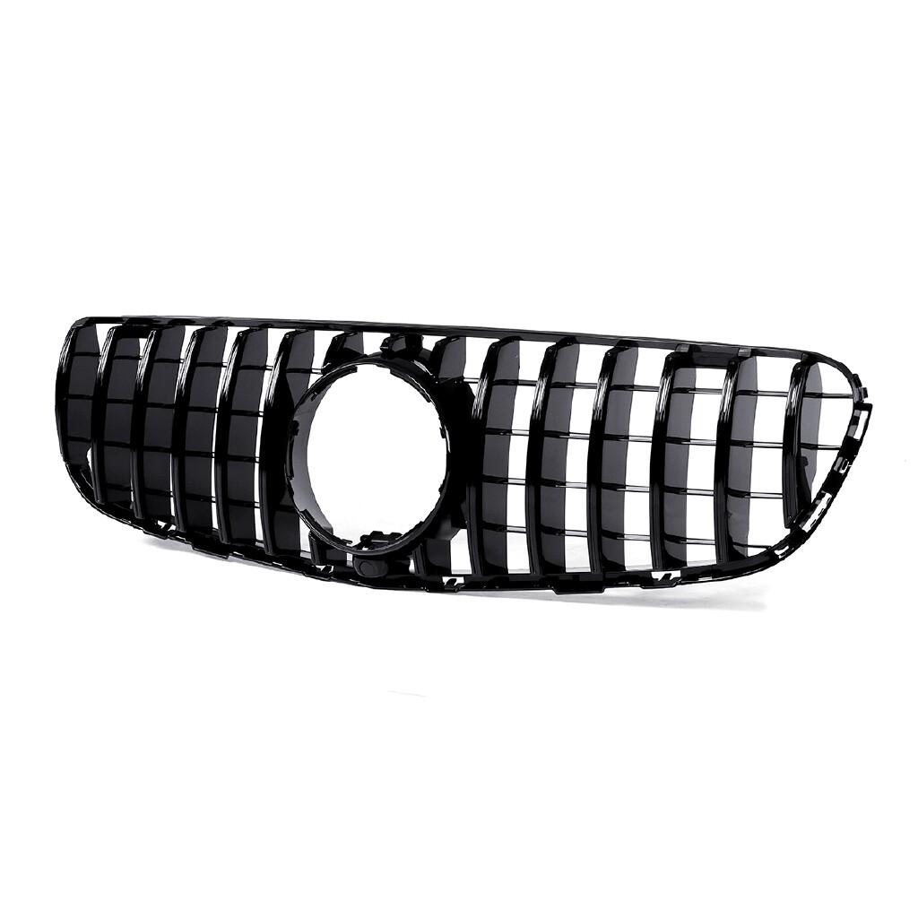 Automotive Tools & Equipment - For Mercedes Benz GLC Class W/X253 GLC300 GLC350 15-18 AMG GTR Style Front Grill - Car Replacement Parts