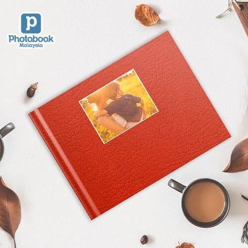 "[e-Voucher] Photobook Malaysia - 14"" x 11"" Large Landscape Debossed Hardcover Photobook, 40 pages"