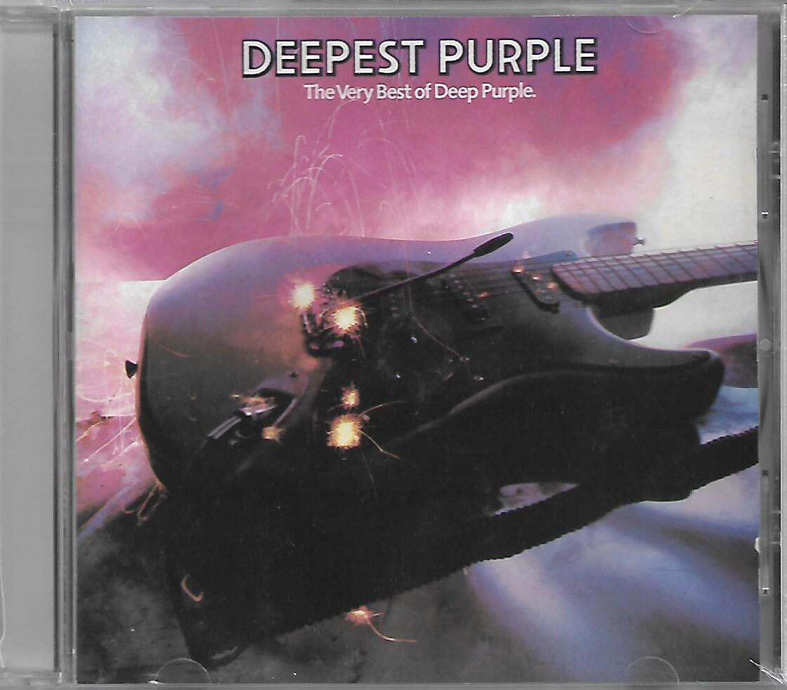 Deepest Purple The Very Best of Deep Purple Imported CD UK Pressed Original New And Sealed