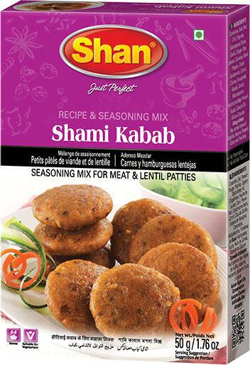 SHAN SHAMI KABAB MIX/MASALA – 50 GM