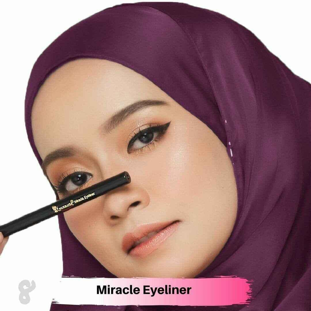 MIRACLE EYELINER WITH NEW FORMULA by NURRASYA