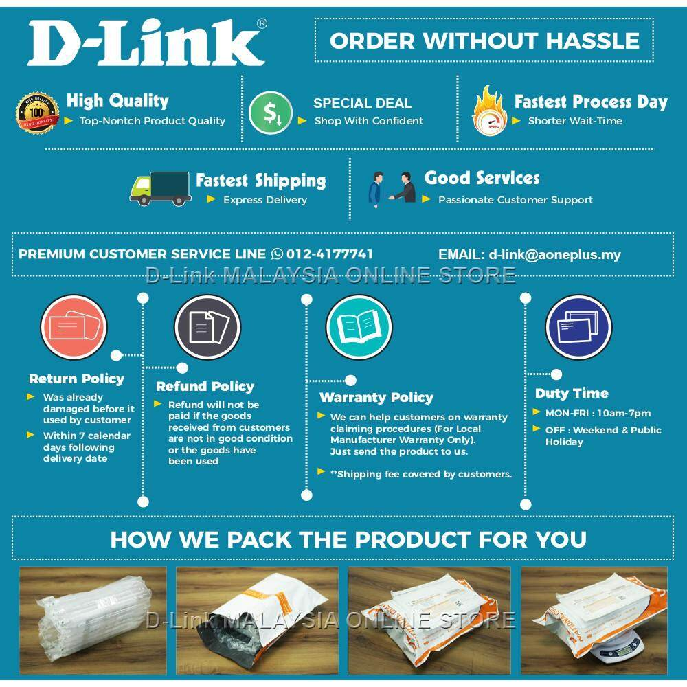 D-Link DWR-116 3G/4G Wireless N 300M Multi-WAN Router with 4 Port LAN