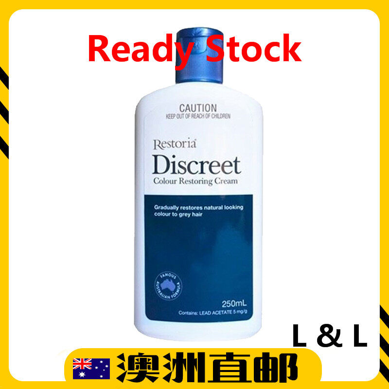 [Ready Stock EXP: 02/2024yr] Restoria Discreet Hair Colour Restoring Cream 250ml (Made in Australia)