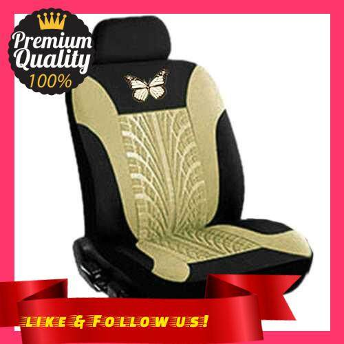 People\'s Choice Car Seat Covers Front and Rear Split Bench Protection 5 Seaters Easy to Install Compatible with 90% Vehicles (Auto Truck Van SUV) (Be)