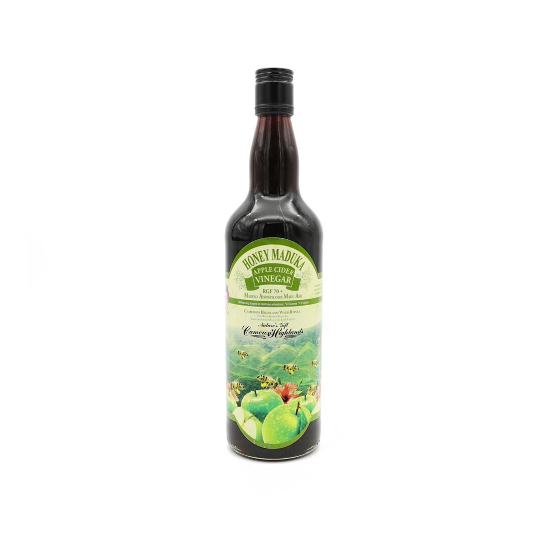 Manduka Honeycomb RGF 70 + Wild Honey Apple Cider Vinegar