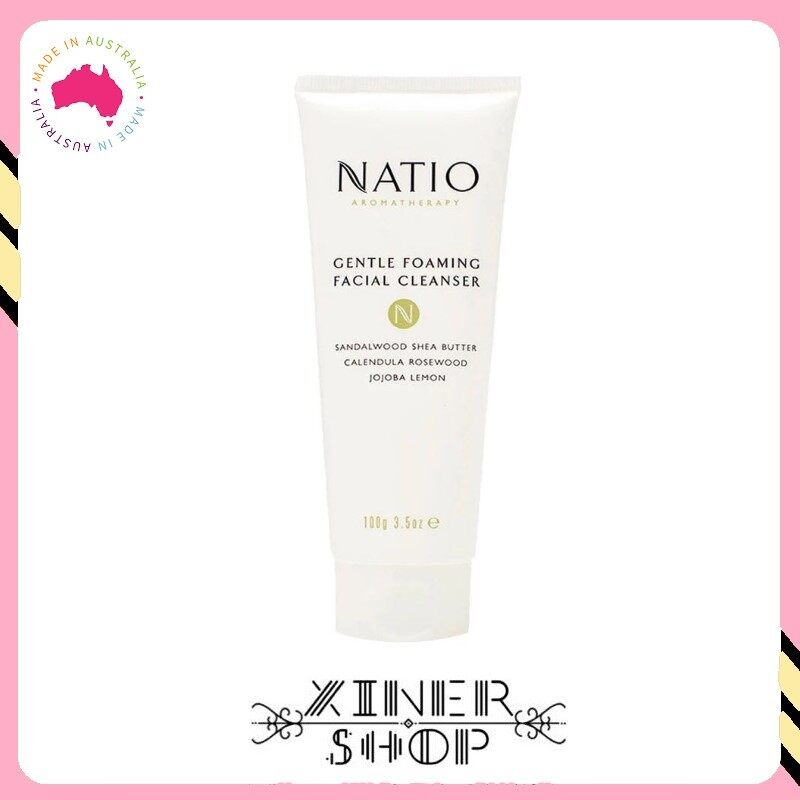 [Pre Order] Natio Gentle Foaming Face Cleanser ( 100g ) (Made In Australia)