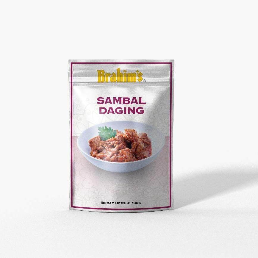 Brahim's Sambal Daging Lembu (Meal Ready To Eat)