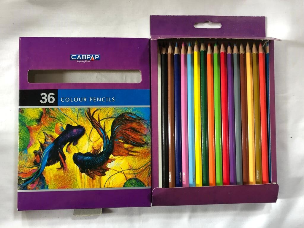 CAMPAP CM9510 36s COLOUR PENCIL x 2bxs
