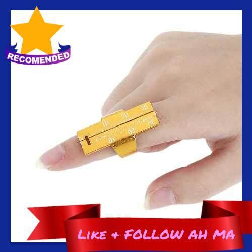 Best Selling 1Pc Dental Endo Finger Ruler Measure Ring Dental Instrument Root Canal Length Measured Aluminium