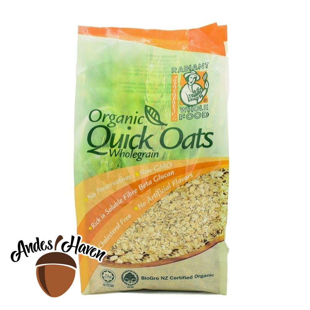 【Radiant】Organic Quick Oats - 500g