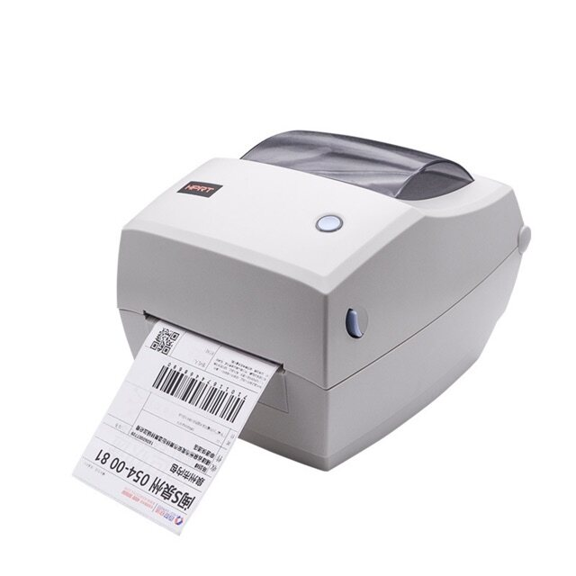 A6 Thermal Printer 1D 2D QR Barcode Label for ecommerce Shipping Logistics can support mac &bluetooth