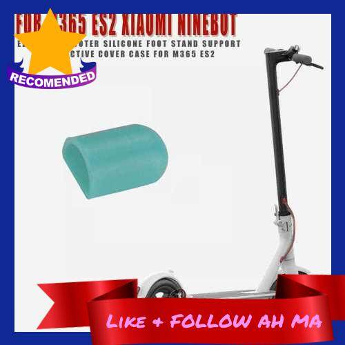 Best Selling Silicone Foot Support Cover Kickstand Protective Cover Compatible with Xiaomi M365 Ninebot ES2 ES4 Electric Scooter (Lake Blue)