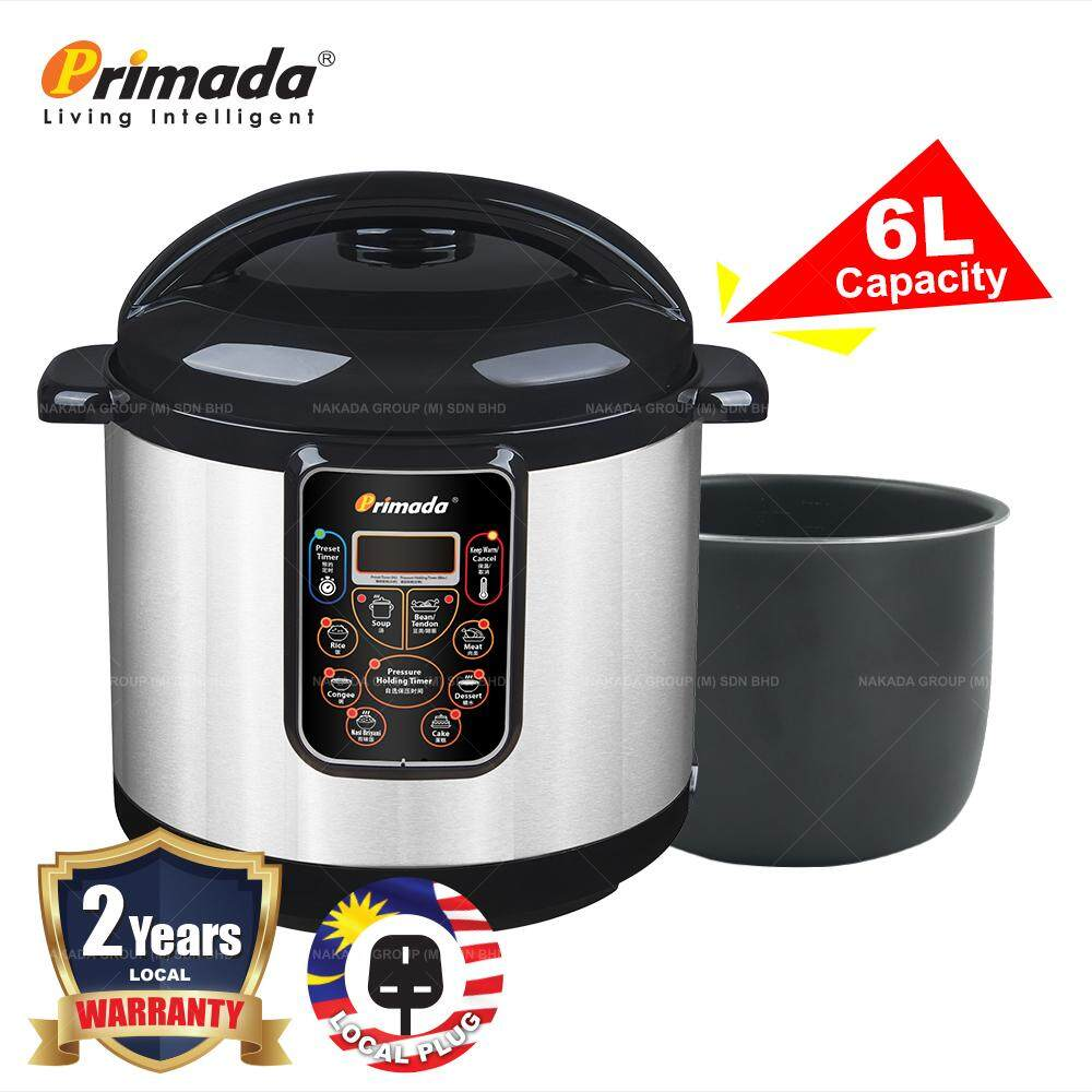 Primada 6 Liter Speedy Intelligent Cooker MPC6050 Basic MPC6050 Basic