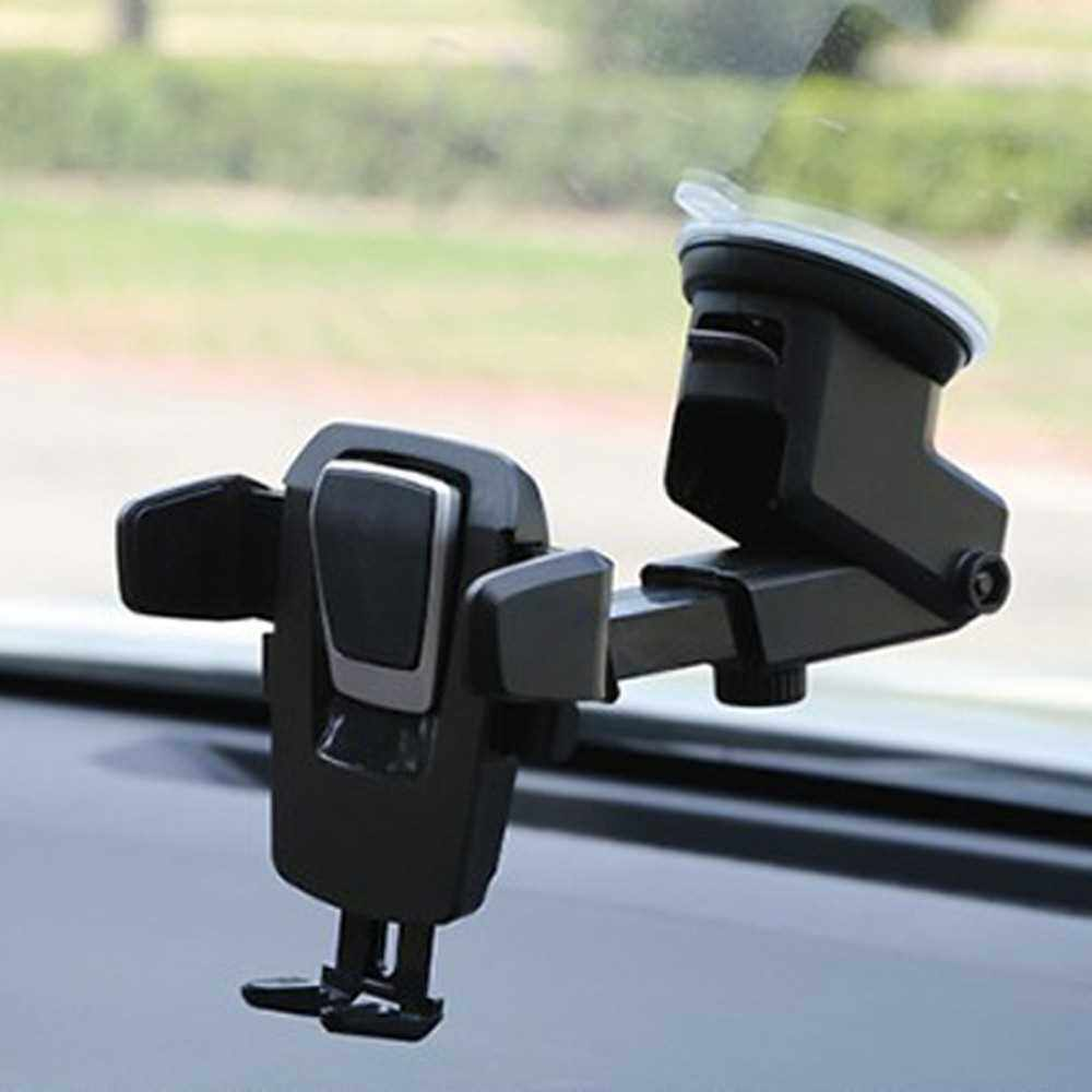 Best Selling Multifunctional Universal Sucked Type Vehicle Driving Adjustable Intelligent Accessory Tool 360 Degree Rotation Cellphone Mobile Car Phone Holder (2)