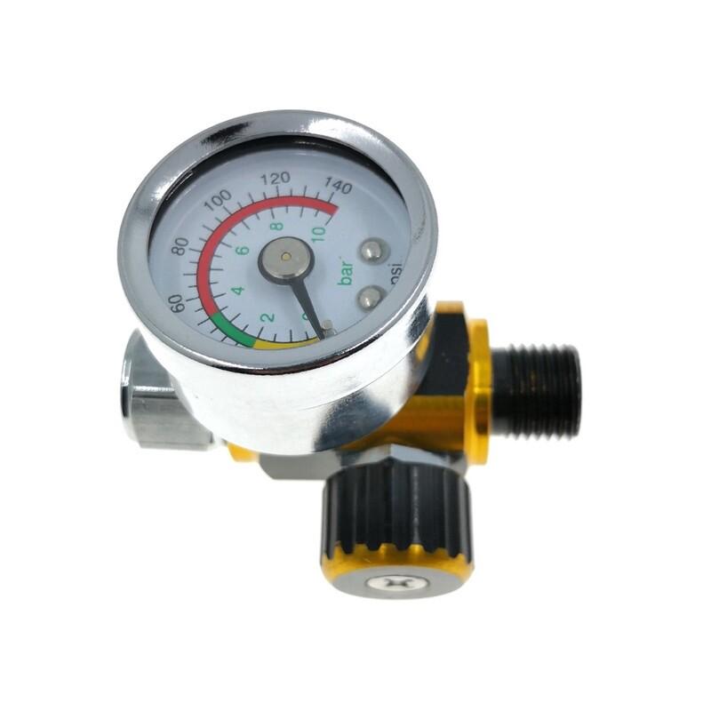 1 PIECE(s) Air Line Control Compressor Pressure Gauge Relief Regulating Regulator Pressure Regulator