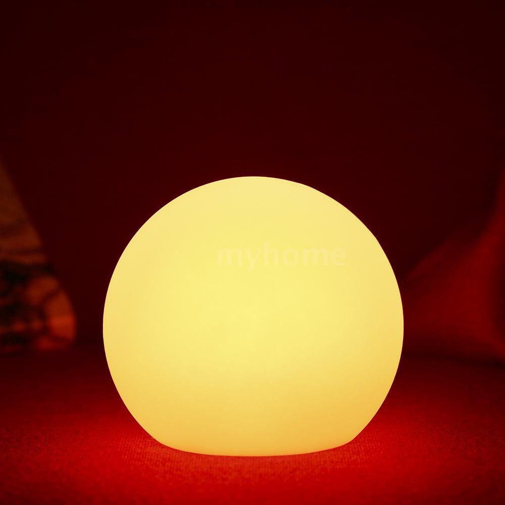 Lighting - DC3.7V 1.8W 3 LED Multi-color Night Light Desk Lamp Diameter 200MM Cute Ball Circle Round Design 3 - 200MM / 150MM / 120MM
