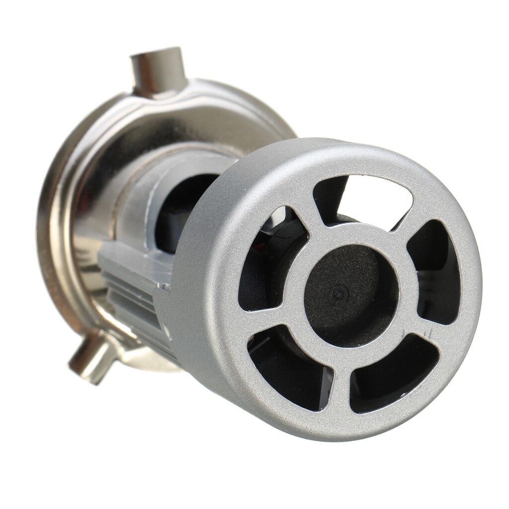Moto Accessories - Motorcycle H4 LED Hi/Lo Light 20W 2000LM Driving Lamp White 6500K Headlight Bulb - Motorcycles, Parts