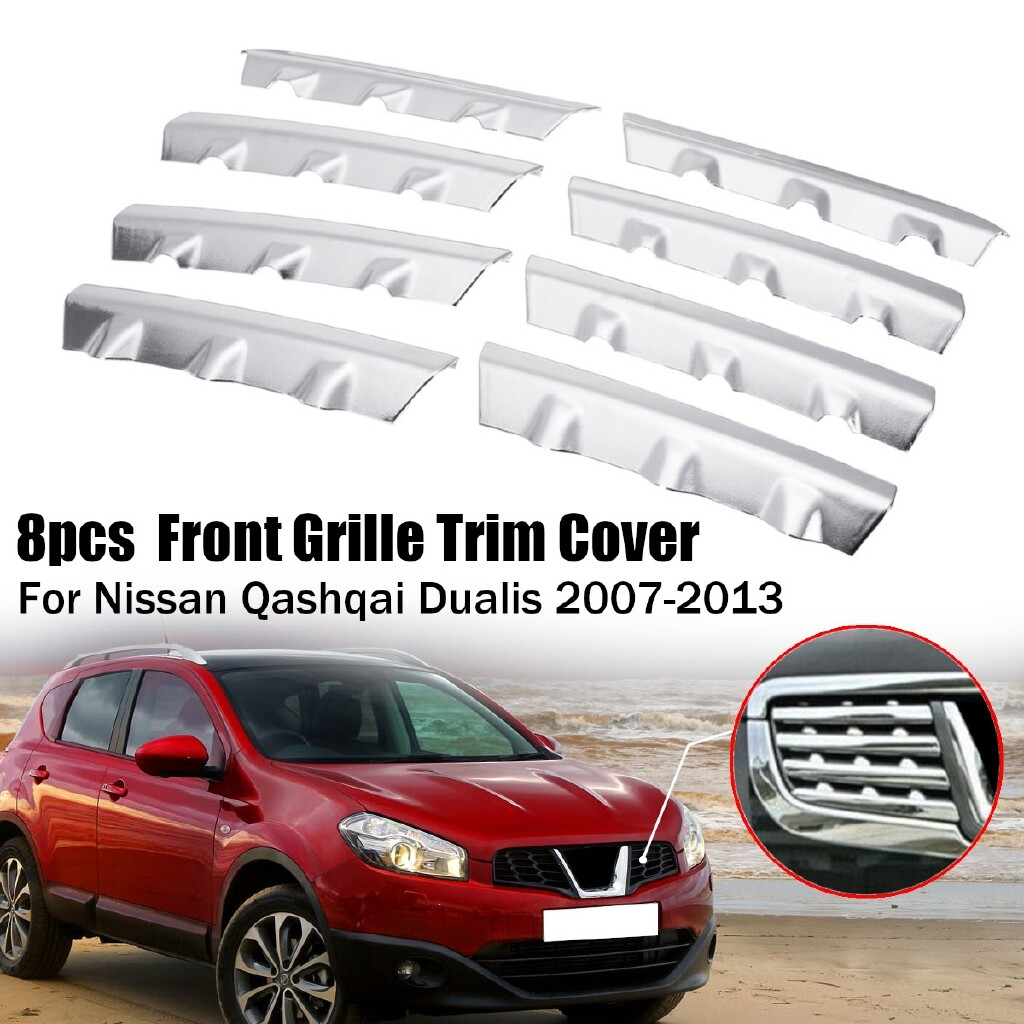 Car Accessories - Car Center Grille Cover For Nissan Qashqai Dualis 2008 2009 2010 2011 2012 2013 - Automotive