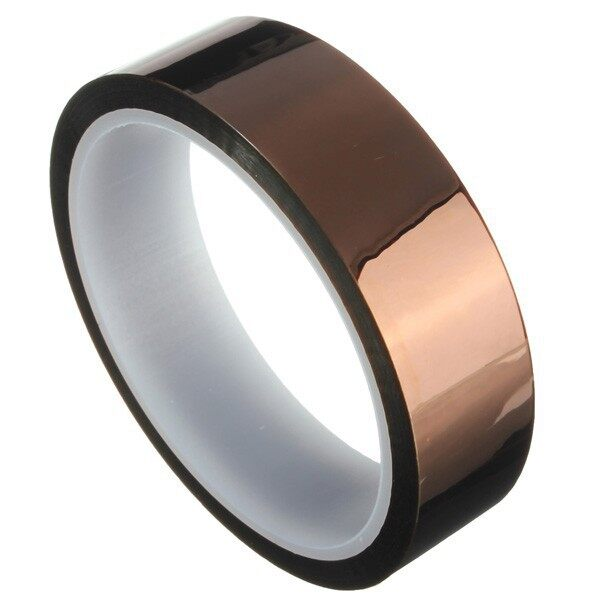 Cool Gadgets - 25mm x 33m Heat Resistant High Temperature Kapton Polyimide Tape fDB - Mobile & Accessories