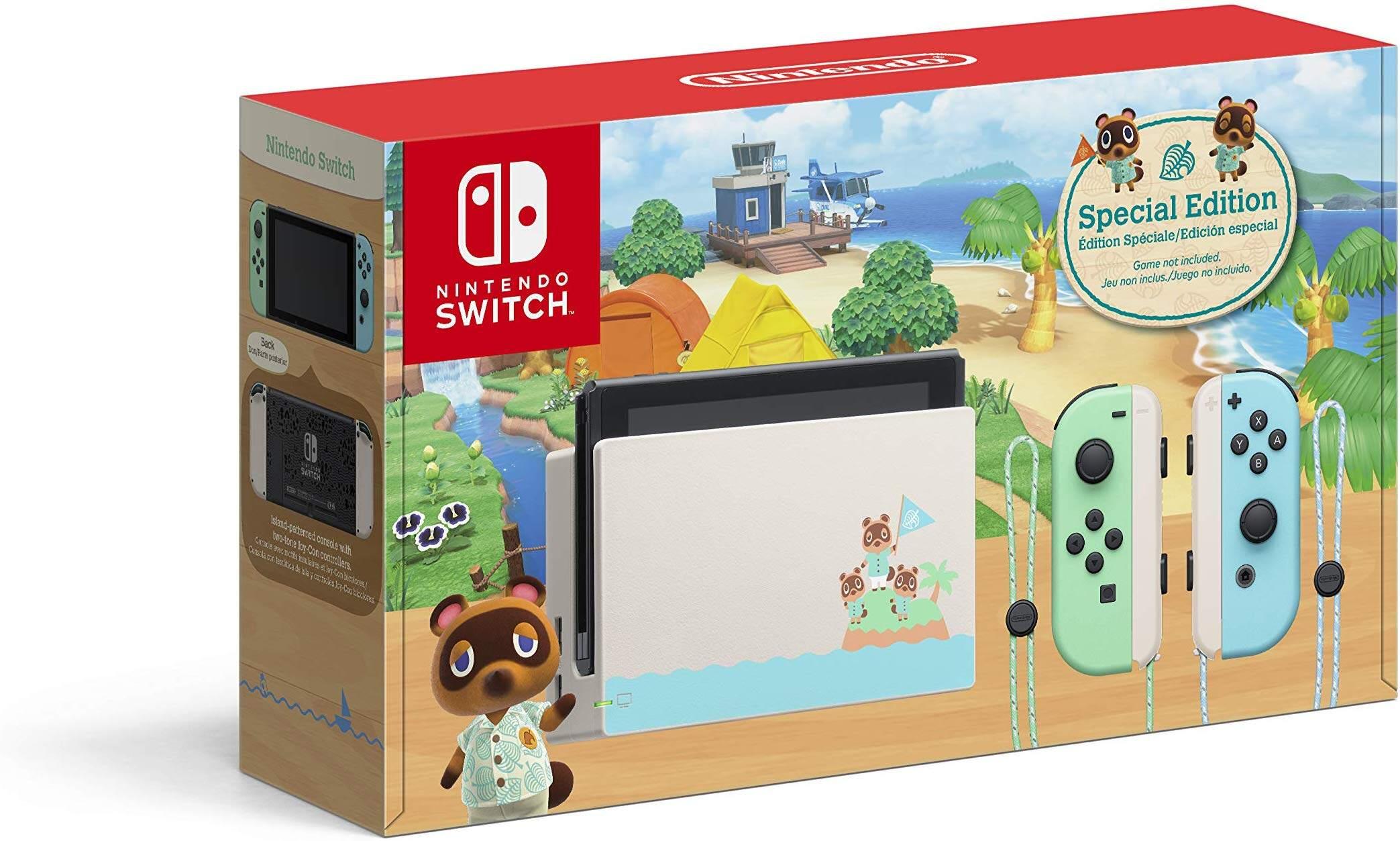 Nintendo Switch - Animal Crossing: New Horizons Limited Edition Console ( 1 Year Warranty Maxsoft )
