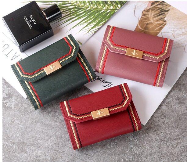 Bettle Fashion Women Female Short Wallet Small Purse