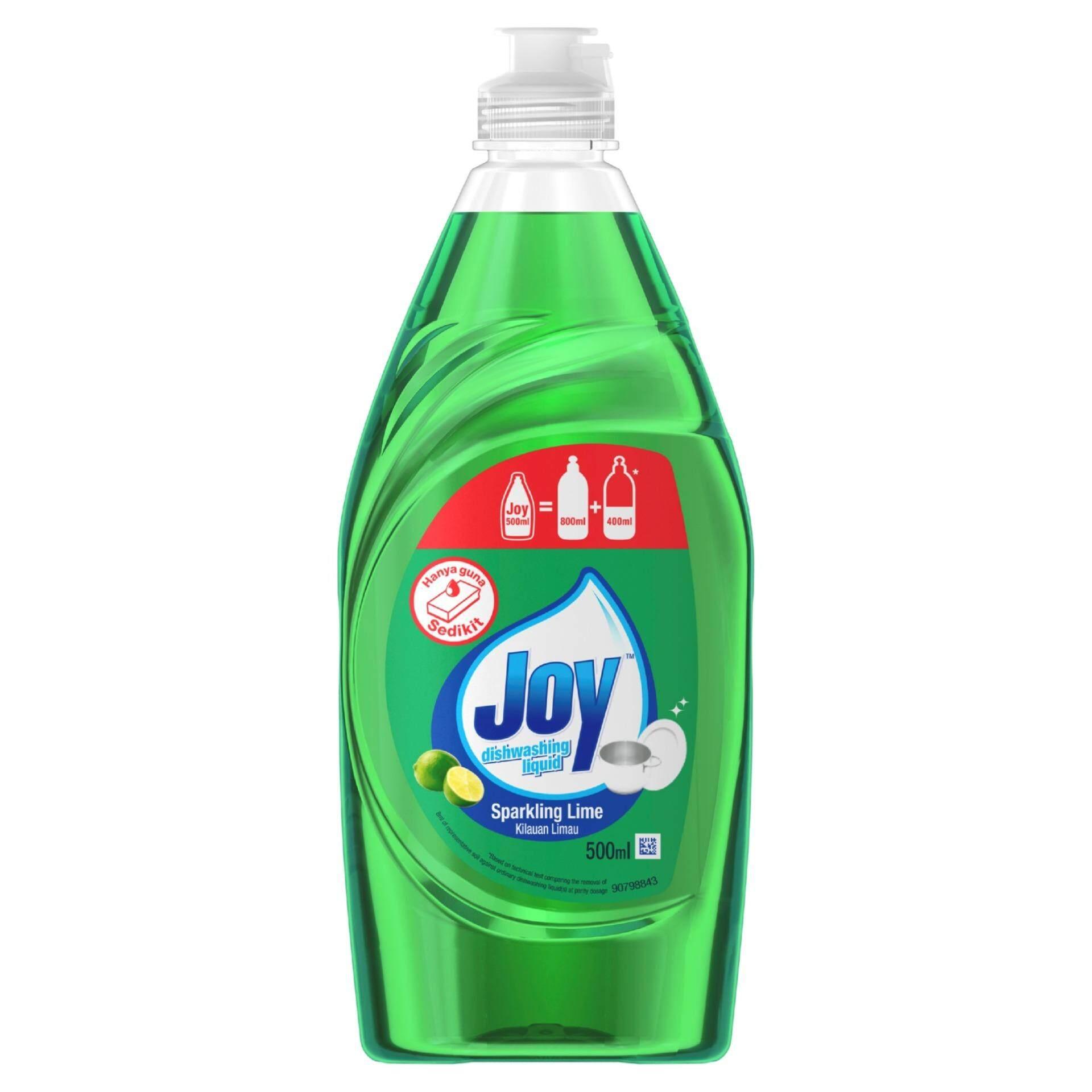 Joy Hand Dishwashing Liquid Bottle 500ML LIME