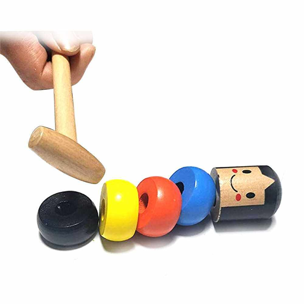 People's Choice Unbreakable Immortal Daruma Magic Toy Magic Tricks Funny Wooden Toys Gifts (Standard)