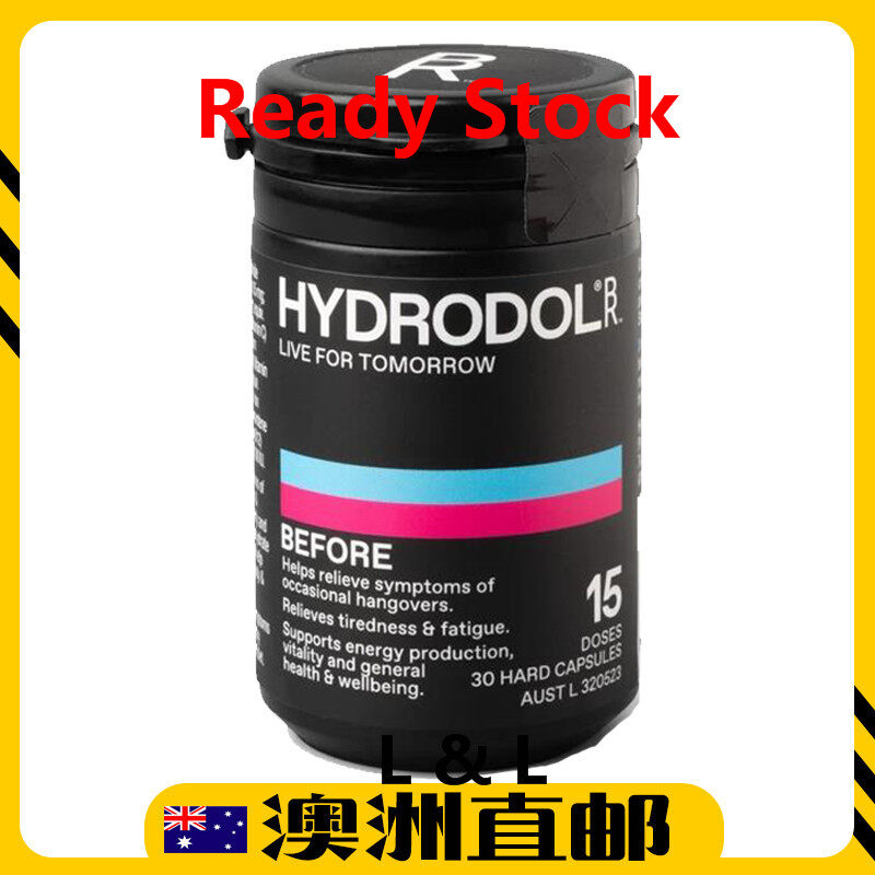 [Ready Stock EXP: 11/2021yr]  解酒片 Hydrodol Handover Relief Before 15 Dose (From Australia)