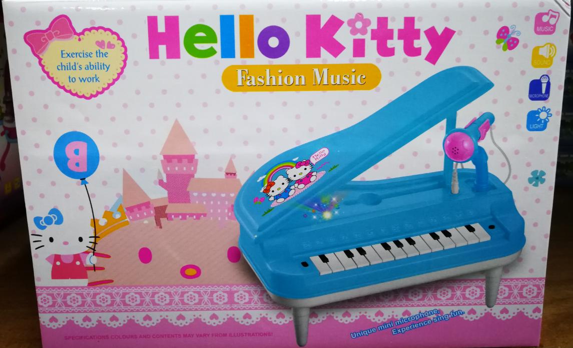 Disney Frozen And Hello Kitty Cartoon Electronic Organ Piano Developmental Keyboard baby toys