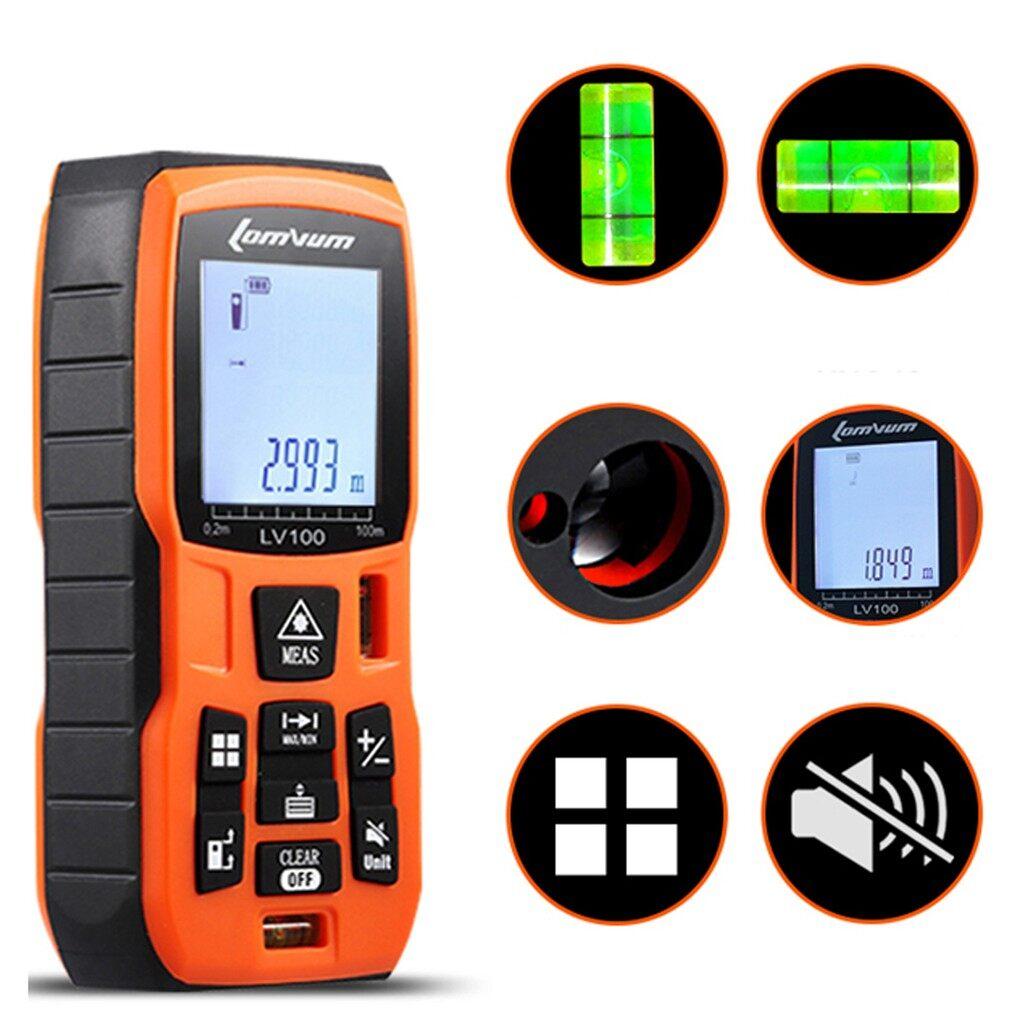 Gadgets - Laser Rangefinder Digital Laser Distance Meter battery-powered laser - 100M / 80M / 60M / 50M / 40M