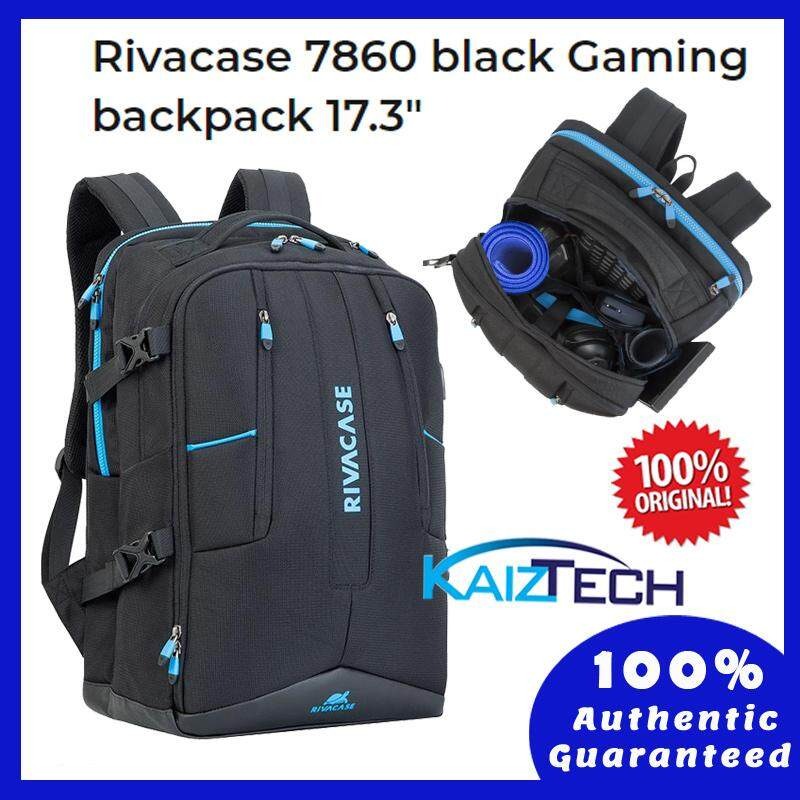 Original Rivacase 7860 Black Gaming backpack 17.3""