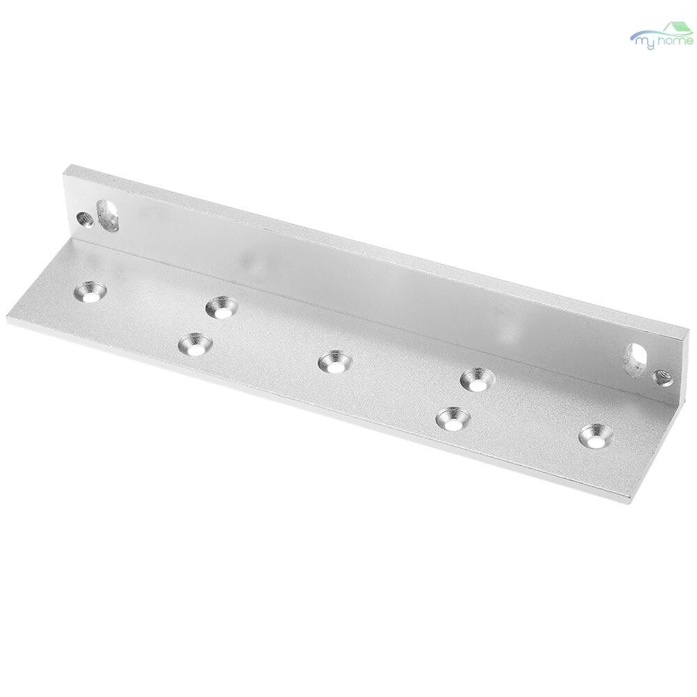 Chains & Locks - L Mounting Bracket Stent For 180KG 350lbs Magnetic Lock Door Aluminium Alloy Holder Stand - L / Z