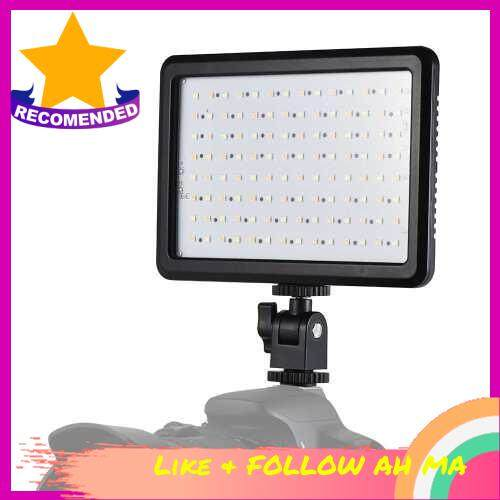 Best Selling Andoer PT-112 Super Slim LED Light Panel Camera Camcorder Video Lighting Dimmable Brightness Bi-color Temperature 3200K-5600K for Canon Nikon Sony Pentax Olympus DSLR Photo Studio ()
