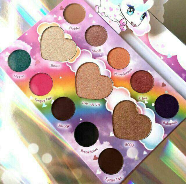 FREE GIFTMarvycorn By Marvyn Macnificent 13 Color Shadow & Highlighter Palette