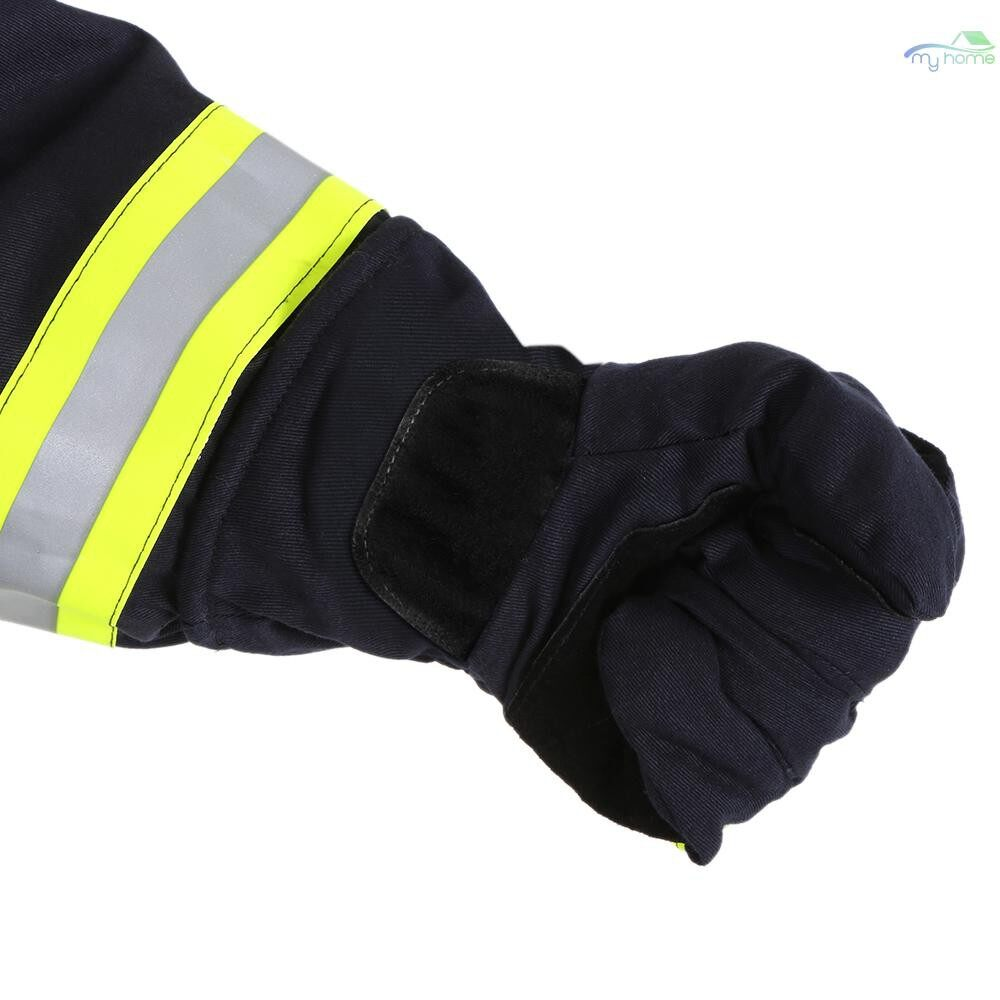 Protective Clothing & Equipment - Protective Gloves Waterproof Heat -Resistant Flame-retardant Cut-resistant Gloves with Reflective - #