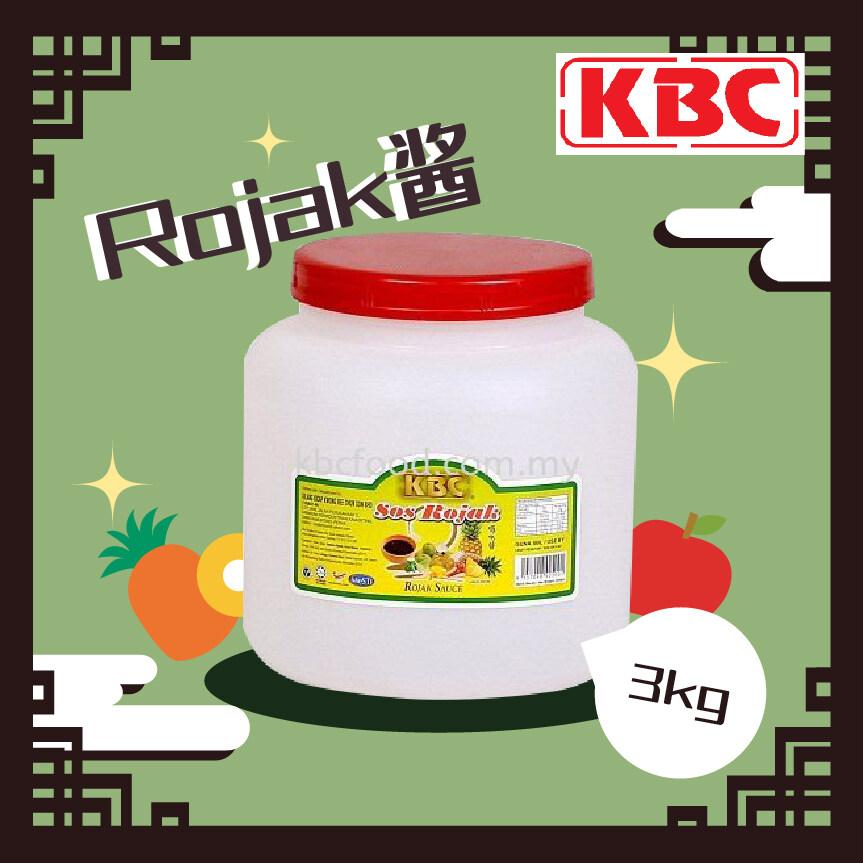 3KgKBC Rojak Sauce (3kg) 囉吔醬