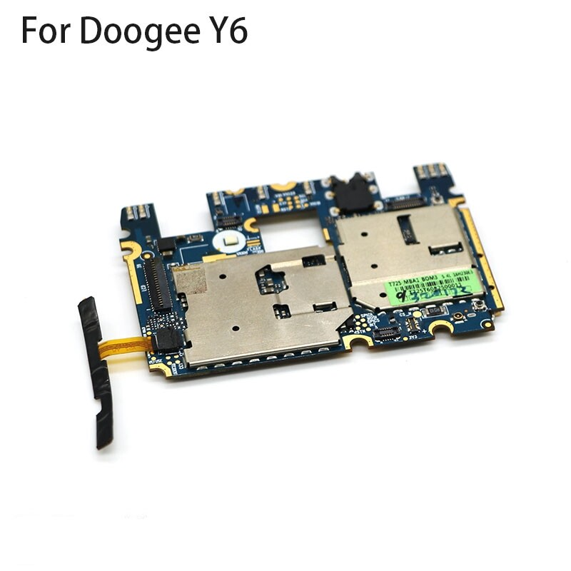 Mainboard 2G RAM+16G ROM Motherboard with Flex Cable for 5.5 Doogee Y6 MTK6750 - DOOGEE Y6 / DOOGEE Y6C / DOOGEE Y6 MAX / DOOGEE Y6 PIANO