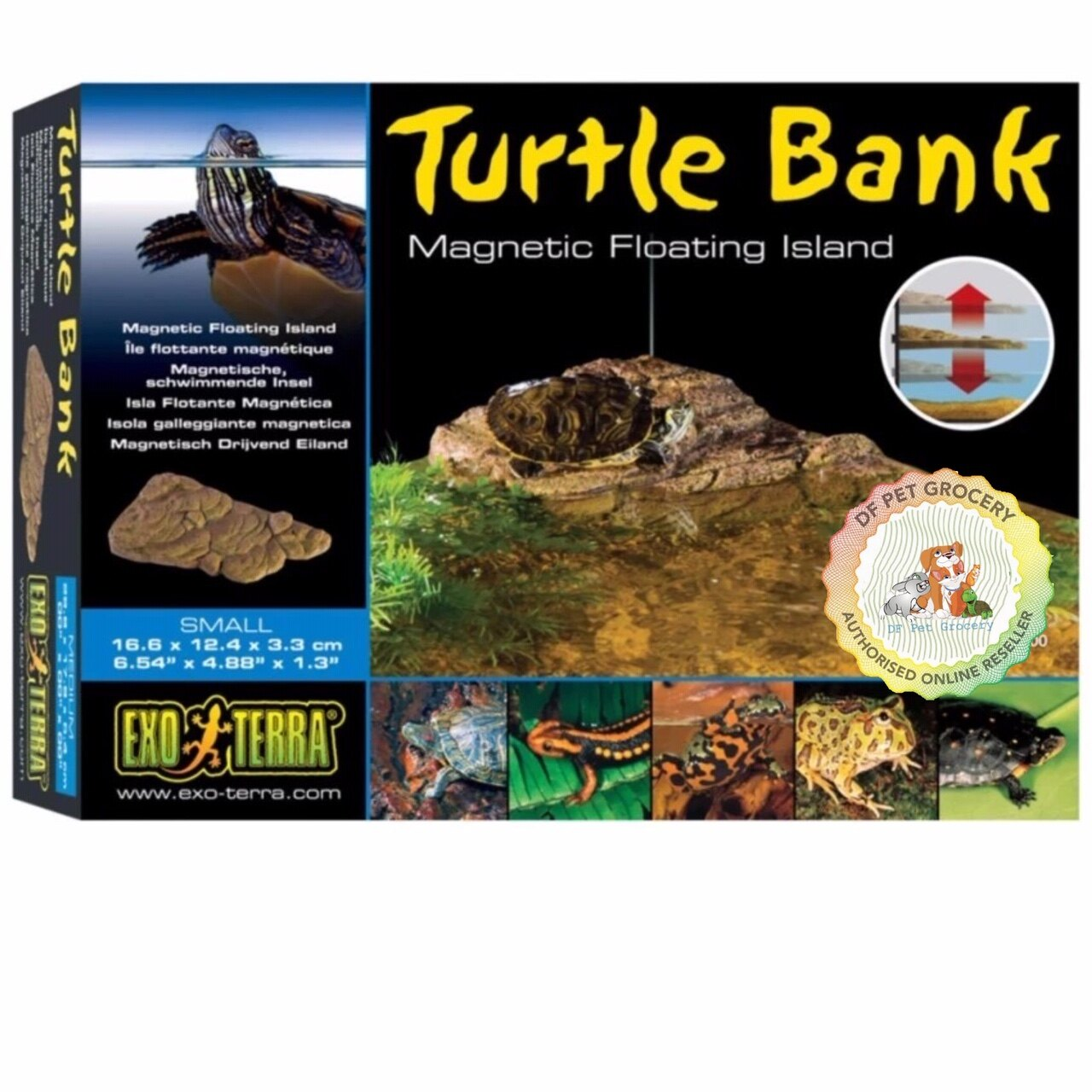 EXO TERRA TURTLE BANK / MAGNETIC FLOATING ISLAND (PT3800) S