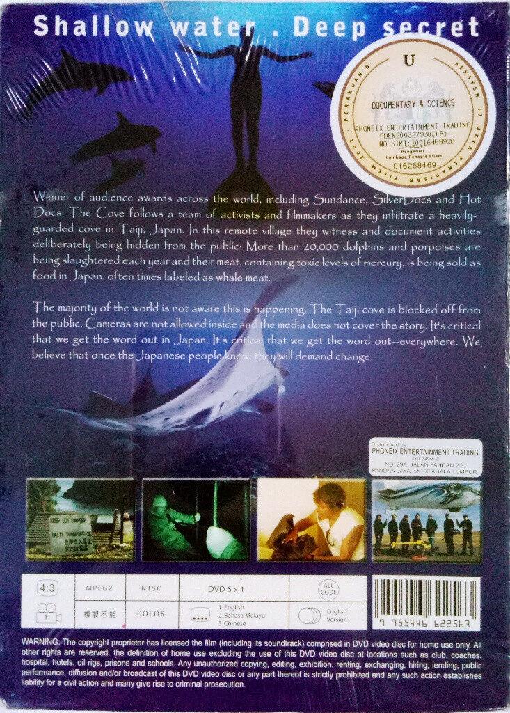 English Documentary Film The Cove DVD