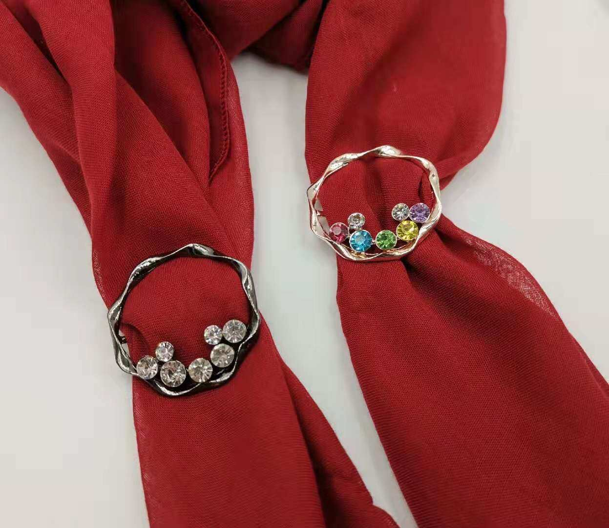 KOREA BROOCH RING BUCKLE TUDUNG