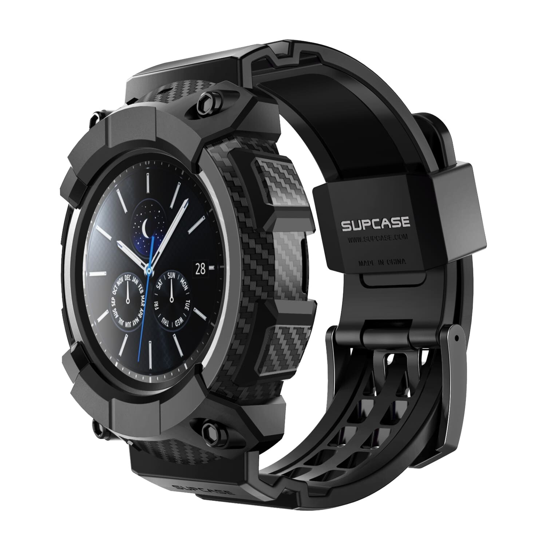 Original SUPCASE Galaxy Watch 3 45mm Unicorn Beetle Pro Wristband Case Cover